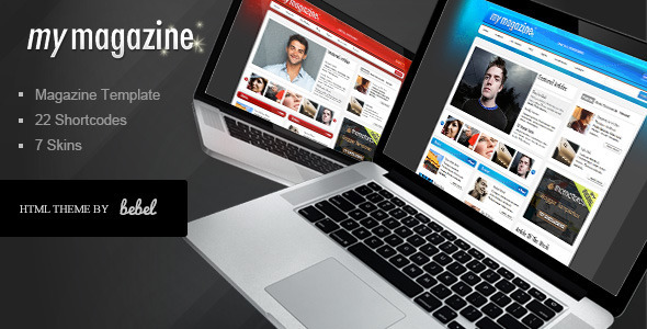 ThemeForest MyMagazine Stylish Portal News Site 105992