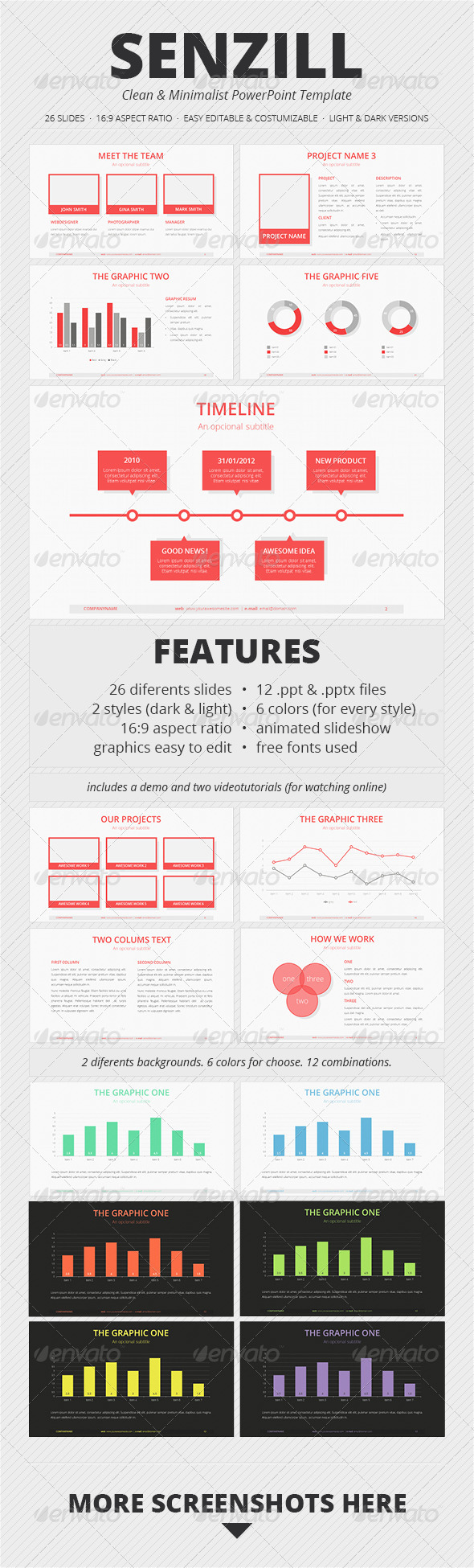 GraphicRiver Senzill PowerPoint Template 3355551