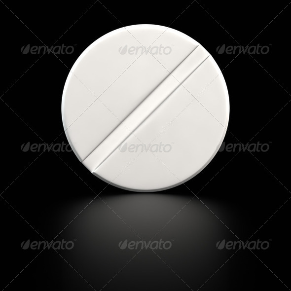 Big tablet - Stock Photo - Images