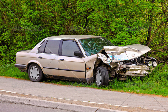 Car collision - Stock Photo - Images