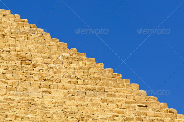 Pyramide edge - Stock Photo - Images