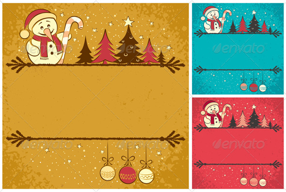 GraphicRiver Christmas Card 4 3355959