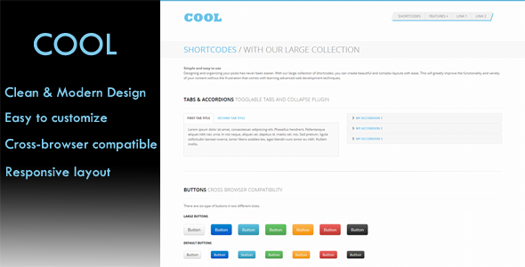 CodeCanyon Cool Bootstrap Skin 3356406