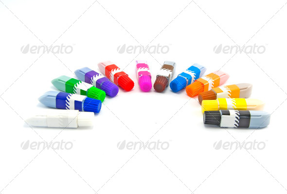 Paint Tubes - Stock Photo - Images