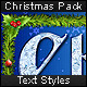 Christmas Pack - Text Styles - GraphicRiver Item for Sale
