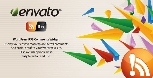 CodeCanyon Envato Comments WordPress RSS 3356930