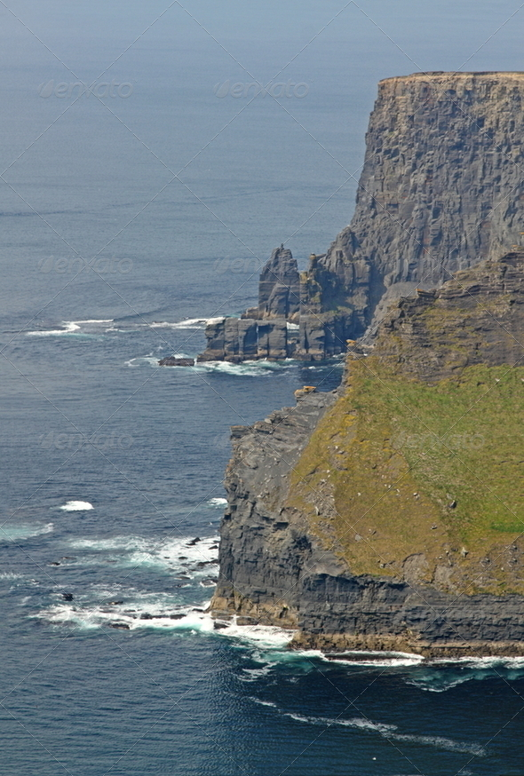 The Cliffs of Moher - Stock Photo - Images