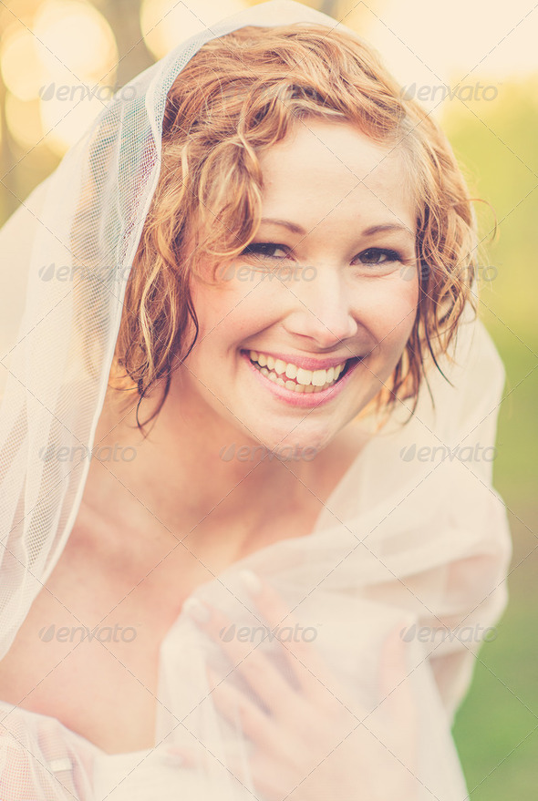 summer bride - Stock Photo - Images