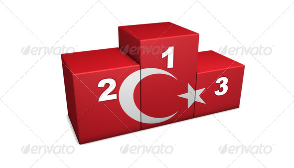 Turkish Podium - Stock Photo - Images