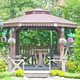 wooden gazebo in the garden - PhotoDune Item for Sale