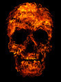 Fire skull - PhotoDune Item for Sale