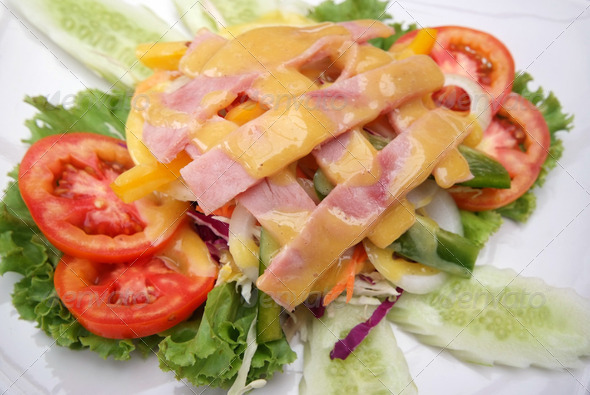 Ham Salad - Stock Photo - Images