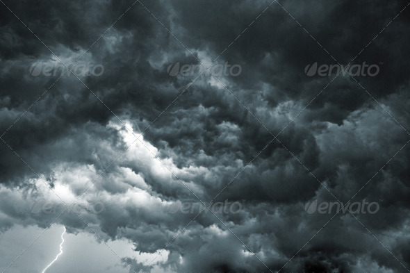 Storm Sky - Stock Photo - Images