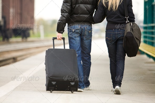 Travelers - Stock Photo - Images