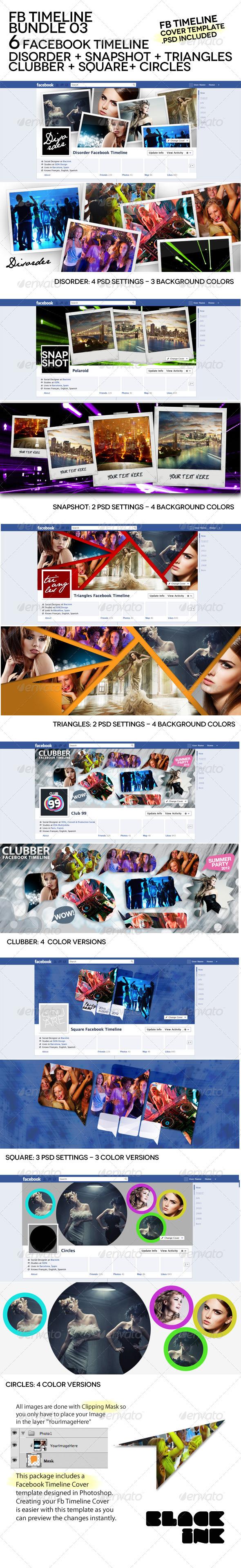 GraphicRiver FB Timeline Bundle 03 3357880