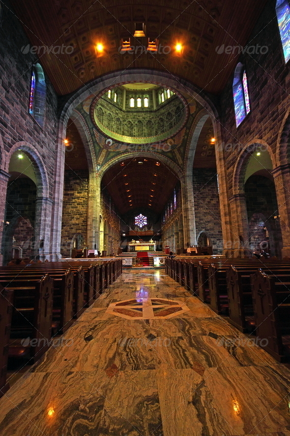 Galway Cathedral, Ireland - Stock Photo - Images