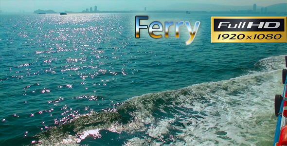 Crossing With Ferry FULL HD