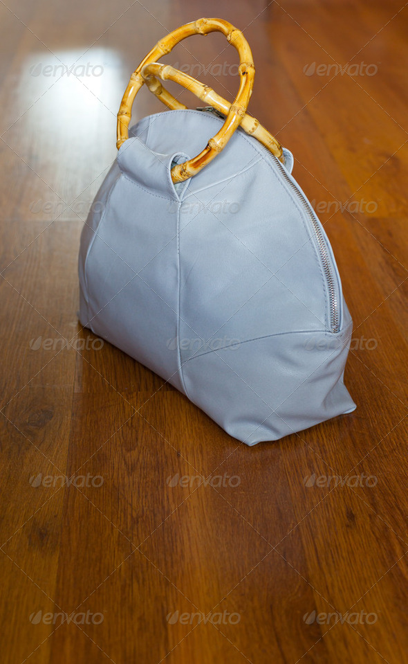 leather travelling bag - Stock Photo - Images