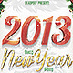 Crazy New Year Party Flyer - GraphicRiver Item for Sale