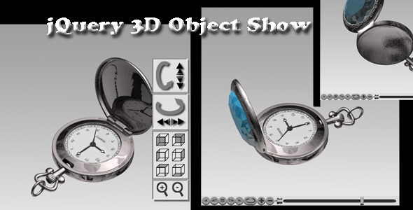 CodeCanyon jQuery 3D Object Show 3349426