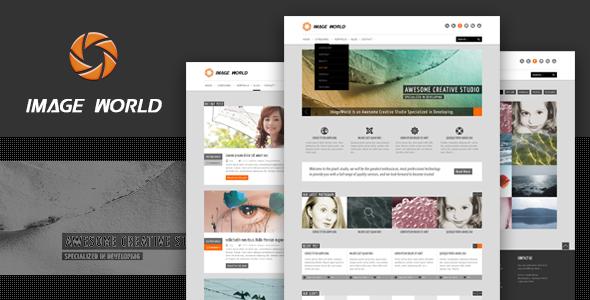 ImageWorld - Premium HTML Template