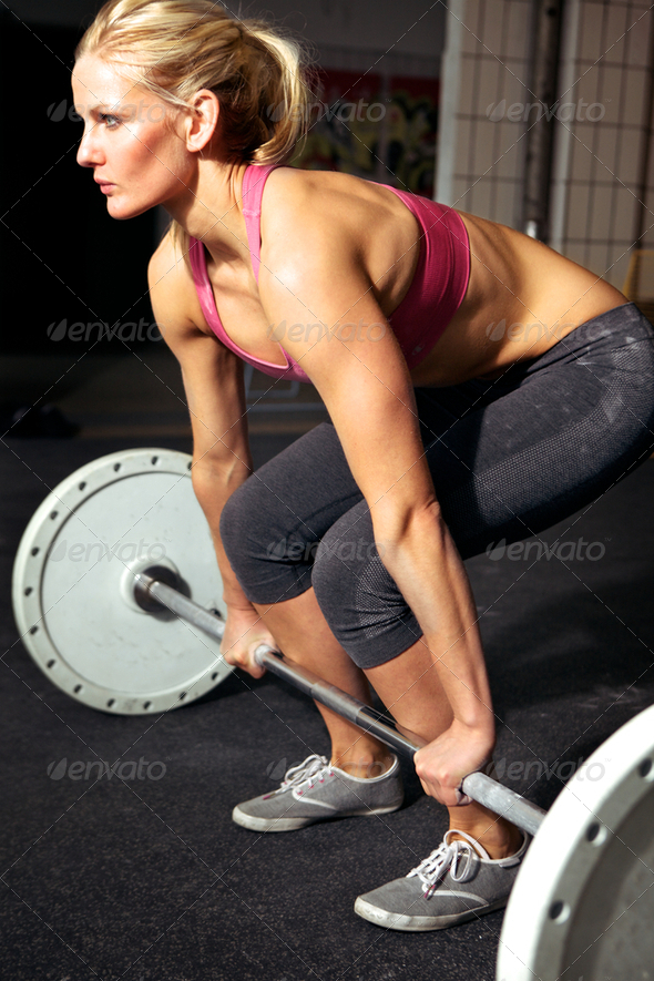 PhotoDune Female Fitness Workout 2531336