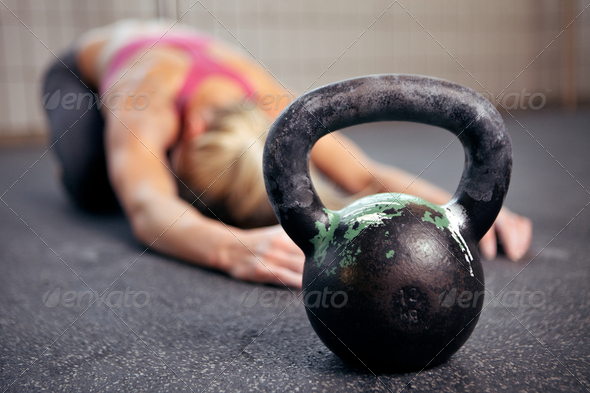PhotoDune Kettlebell Workout 2531344
