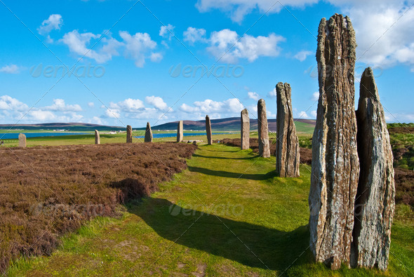 Ring of Brodgar - Stock Photo - Images