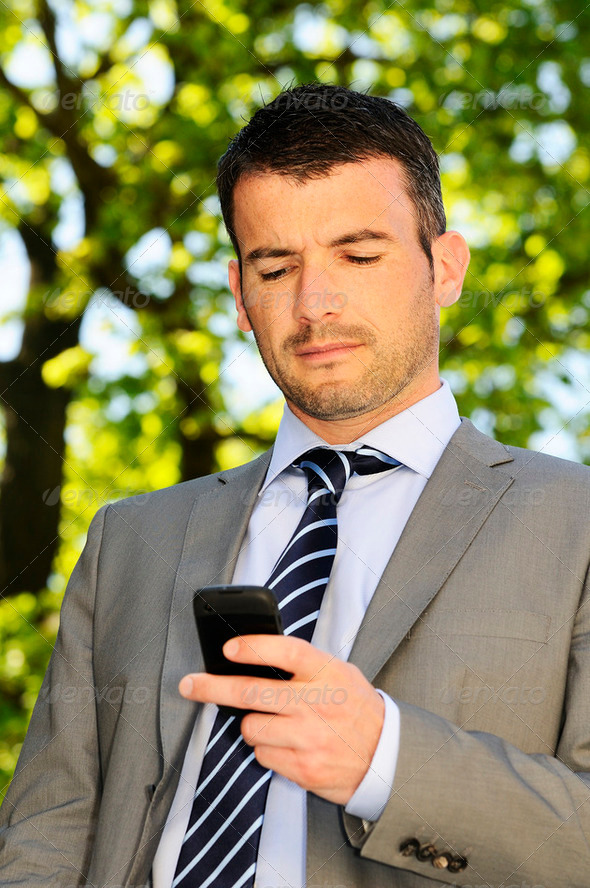 cellphone business - Stock Photo - Images