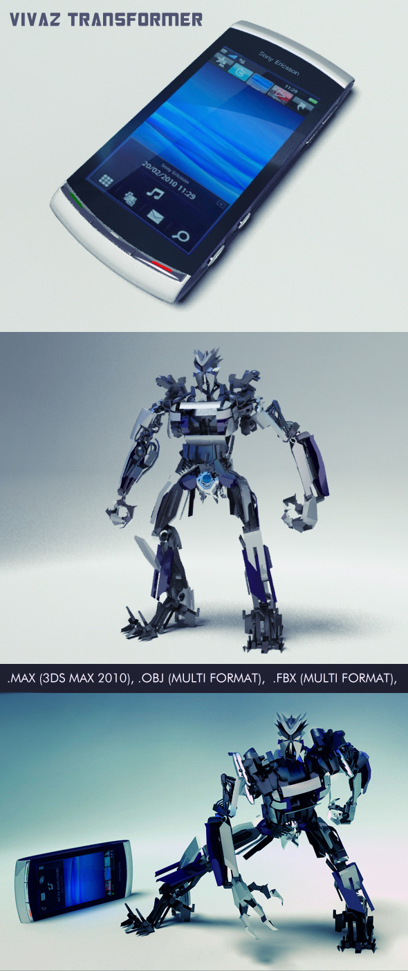 3DOcean Vivaz Transformer 3359518