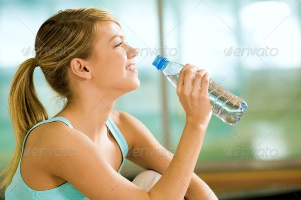 Stock Photo - PhotoDune A drink of water 361771