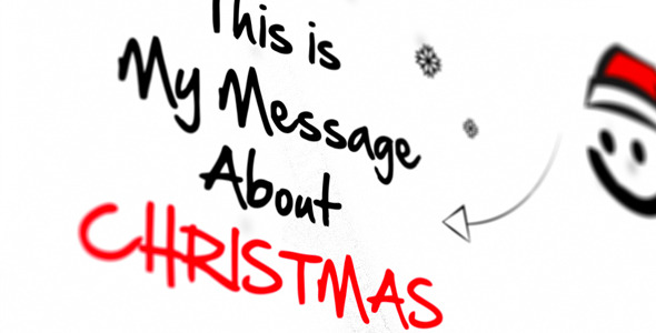 VideoHive Sketch Christmas 3359996