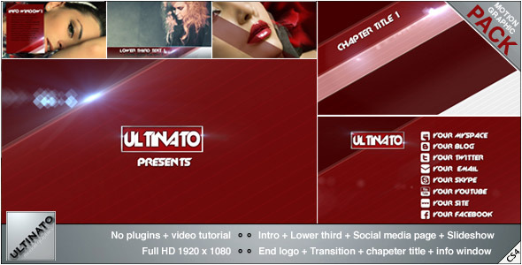 VideoHive Stripes Pack 3336390