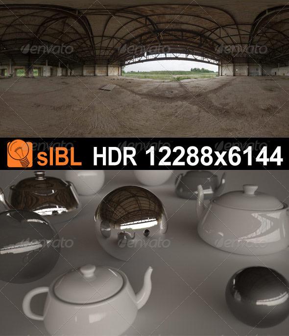 3DOcean HDR 071 Old Hangar sIBL 3360868