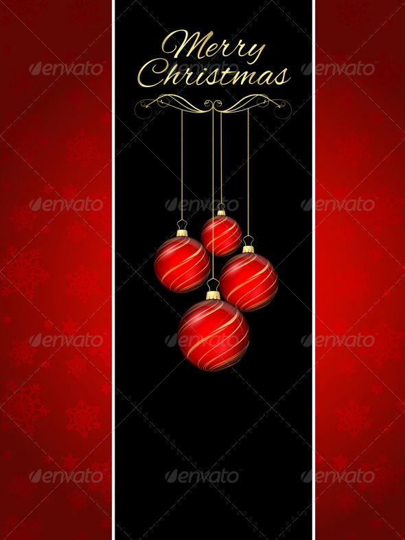 GraphicRiver Christmas background 3361002
