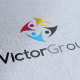 Victor Group Logo Template - GraphicRiver Item for Sale