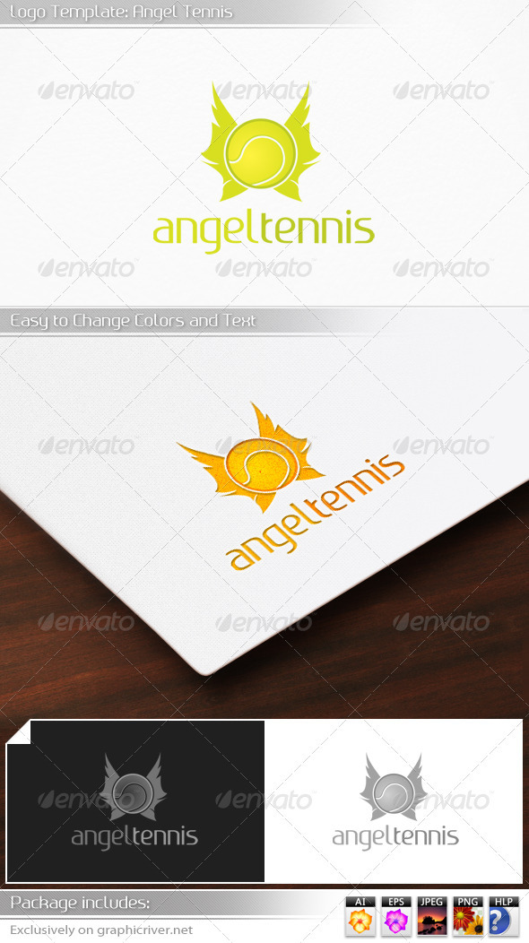 GraphicRiver Angel Tennis 3361004