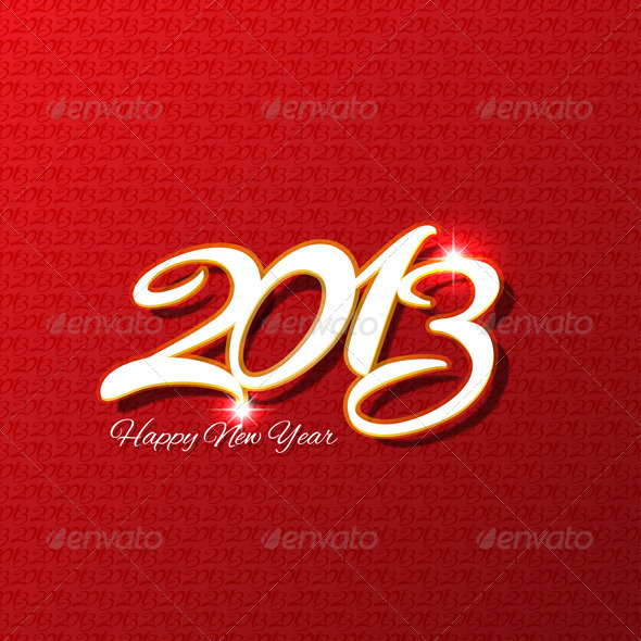 GraphicRiver Happy New Year Background 3361141