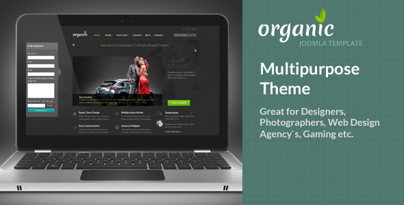 Organic Multipurpose Theme