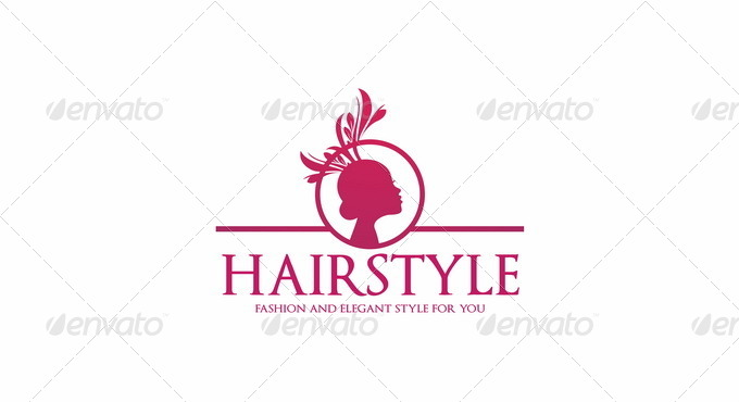 Hairstyles Logo : 01_Hairstyle Logo Template - Fashion And Beauty.jpg 02_Hairstyle Logo ...
