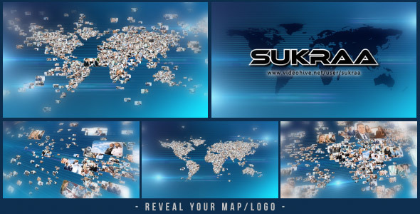 After Effects Project - VideoHive Business World Logo Revealer 3361611