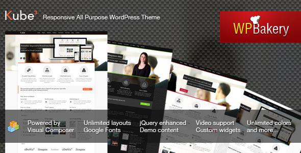 ThemeForest Kube Responsive All Purpose WordPress Theme 3361628