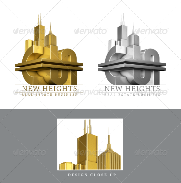 GraphicRiver Real Estate Business Logo 3356740