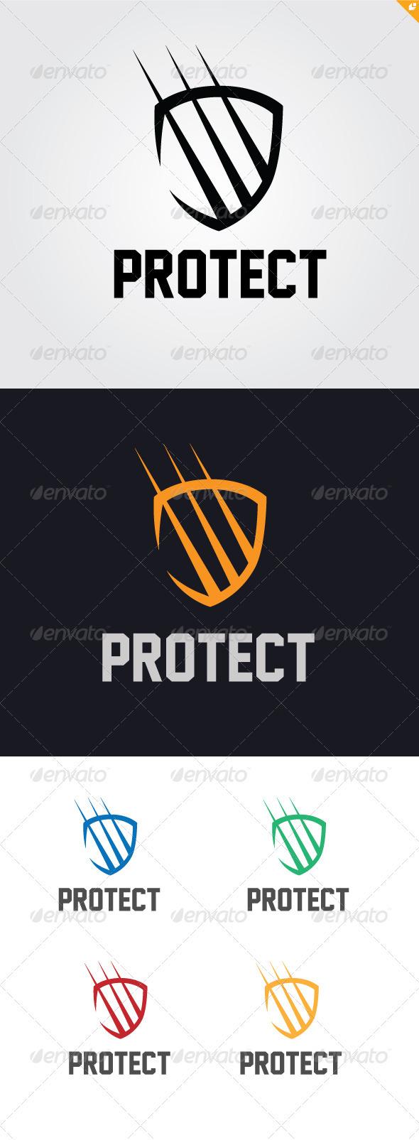 GraphicRiver Protect Logo 3361748