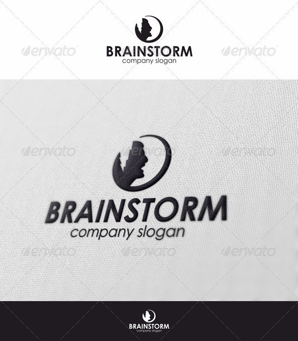 Brainstorm Logo - Humans Logo Templates