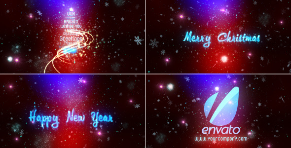 After Effects Project - VideoHive Corporate Christmas Wishes 3361819