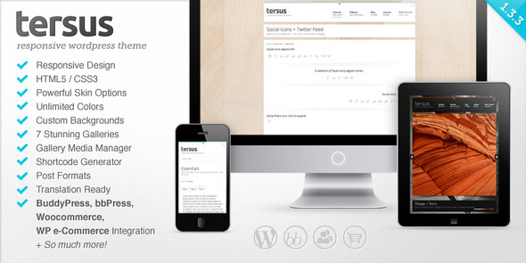 ThemeForest Tersus Responsive WordPress Theme 2343187
