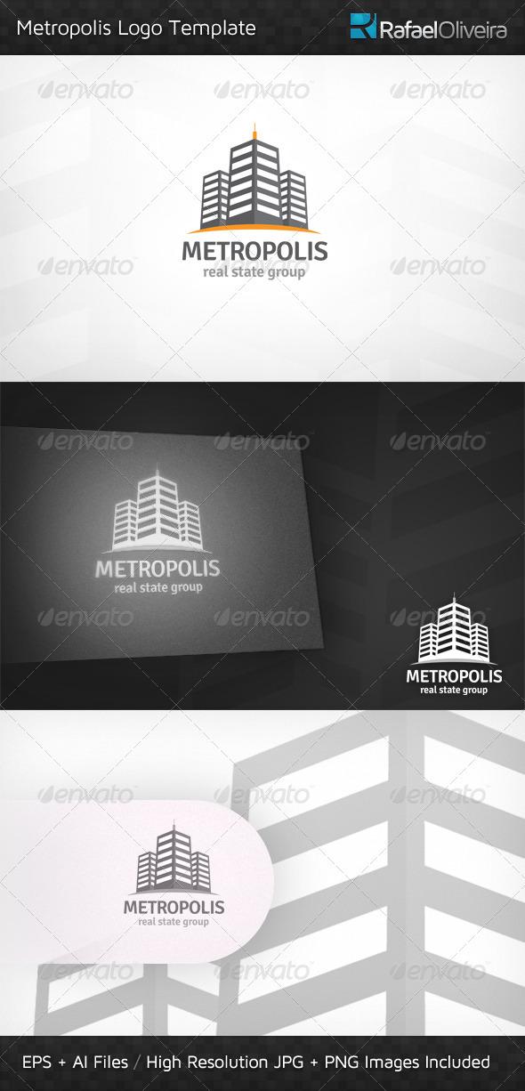 GraphicRiver Metropolis Logo Template 3362444