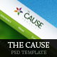 The Cause - Multipurpose Non-Profit PSD Template - ThemeForest Item for Sale