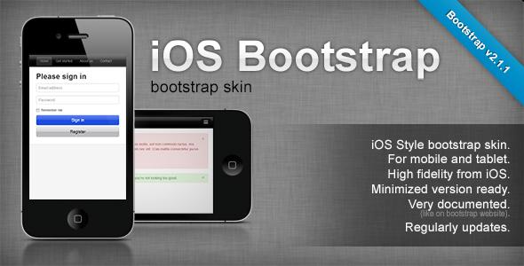 CodeCanyon iOS Bootstrap 3336617